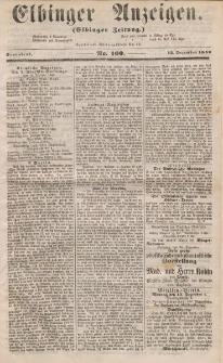 Elbinger Anzeigen, Nr. 100. Sonnabend, 13. Dezember 1856
