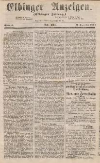 Elbinger Anzeigen, Nr. 101. Mittwoch, 17. Dezember 1856