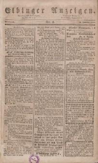 Elbinger Anzeigen, Nr. 4. Mittwoch, 12. Januar 1848
