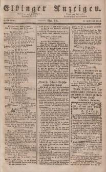 Elbinger Anzeigen, Nr. 13. Sonnabend, 12. Februar 1848