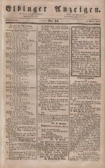 Elbinger Anzeigen, Nr. 21. Sonnabend, 11. März 1848