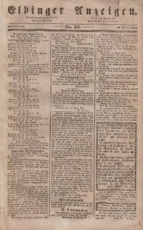 Elbinger Anzeigen, Nr. 23. Sonnabend, 18. März 1848
