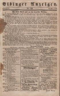 Elbinger Anzeigen, Nr. 25. Sonnabend, 25. März 1848