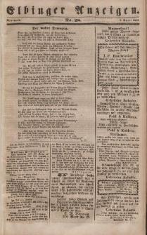 Elbinger Anzeigen, Nr. 28. Mittwoch, 5. April 1848