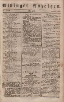 Elbinger Anzeigen, Nr. 31. Sonnabend, 15. April 1848