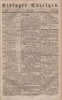 Elbinger Anzeigen, Nr. 32. Mittwoch, 19. April 1848