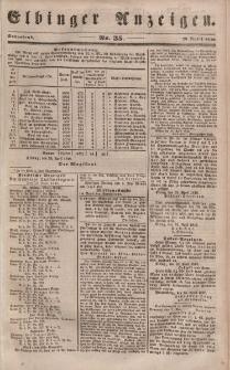 Elbinger Anzeigen, Nr. 35. Sonnabend, 29. April 1848