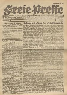 Freie Presse, Nr. 170 Freitag 28. October 1927 3. Jahrgang