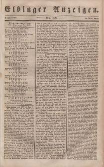 Elbinger Anzeigen, Nr. 39. Sonnabend, 13. Mai 1848