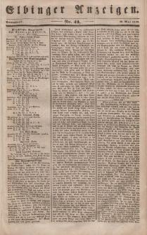 Elbinger Anzeigen, Nr. 41. Sonnabend, 20. Mai 1848