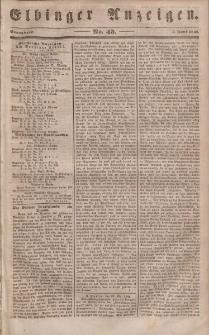Elbinger Anzeigen, Nr. 45. Sonnabend, 3. Juni 1848