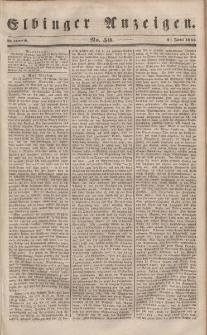 Elbinger Anzeigen, Nr. 50. Mittwoch, 21. Juni 1848