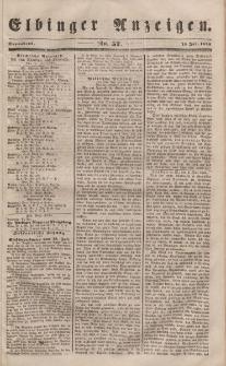 Elbinger Anzeigen, Nr. 57. Sonnabend, 15. Juli 1848