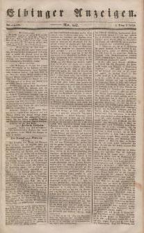 Elbinger Anzeigen, Nr. 62. Mittwoch, 2. August 1848