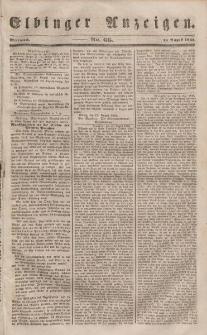 Elbinger Anzeigen, Nr. 66. Mittwoch, 16. August 1848