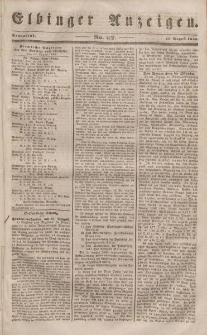 Elbinger Anzeigen, Nr. 67. Sonnabend, 19. August 1848