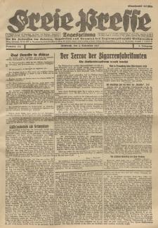 Freie Presse, Nr. 174 Mittwoch 2. November 1927 3. Jahrgang