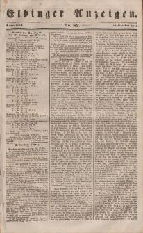 Elbinger Anzeigen, Nr. 83. Sonnabend, 14. Oktober 1848