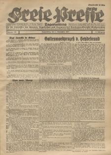 Freie Presse, Nr. 175 Donnerstag 3. November 1927 3. Jahrgang
