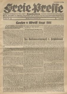 Freie Presse, Nr. 176 Freitag 4. November 1927 3. Jahrgang