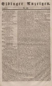 Elbinger Anzeigen, Nr. 99. Sonnabend, 9. Dezember 1848