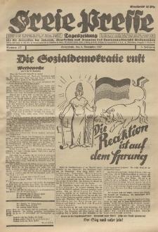 Freie Presse, Nr. 177 Sonnabend 5. November 1927 3. Jahrgang