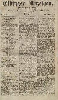 Elbinger Anzeigen, Nr. 6. Sonnabend, 20. Januar 1855