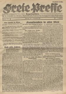 Freie Presse, Nr. 178 Montag 7. November 1927 3. Jahrgang