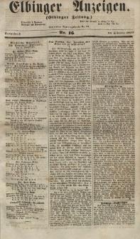 Elbinger Anzeigen, Nr. 16. Sonnabend, 24. Februar 1855