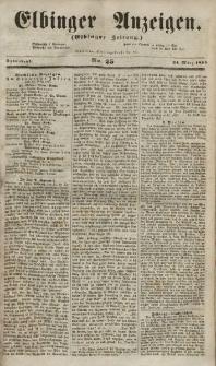 Elbinger Anzeigen, Nr. 25. Sonnabend, 24. März 1855