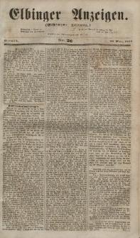 Elbinger Anzeigen, Nr. 26. Mittwoch, 28. März 1855