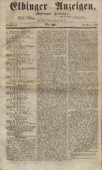 Elbinger Anzeigen, Nr. 27. Sonnabend, 31. März 1855