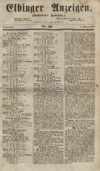 Elbinger Anzeigen, Nr. 29. Sonnabend, 7. April 1855