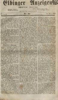Elbinger Anzeigen, Nr. 34. Mittwoch, 25. April 1855