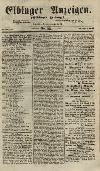 Elbinger Anzeigen, Nr. 35. Sonnabend, 28. April 1855