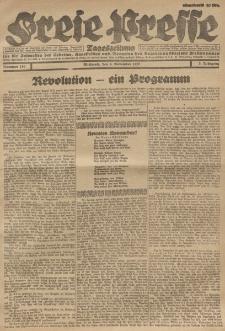 Freie Presse, Nr. 180 Mittwoch 9. November 1927 3. Jahrgang