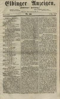 Elbinger Anzeigen, Nr. 37. Sonnabend, 5. Mai 1855