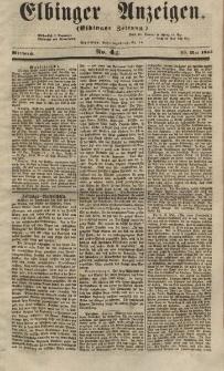 Elbinger Anzeigen, Nr. 44. Mittwoch, 30. Mai 1855