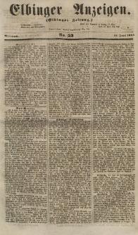 Elbinger Anzeigen, Nr. 52. Mittwoch, 27. Juni 1855