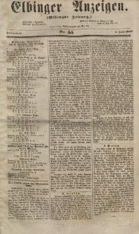 Elbinger Anzeigen, Nr. 55. Sonnabend, 7. Juli 1855