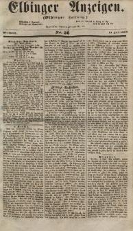 Elbinger Anzeigen, Nr. 56. Mittwoch, 11. Juli 1855