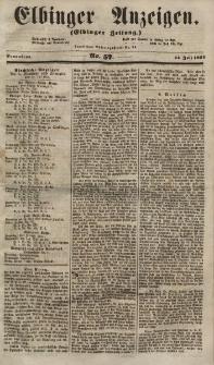 Elbinger Anzeigen, Nr. 57. Sonnabend, 14. Juli 1855