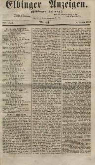 Elbinger Anzeigen, Nr. 63. Sonnabend, 4. August 1855