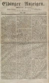 Elbinger Anzeigen, Nr. 66. Mittwoch, 15. August 1855