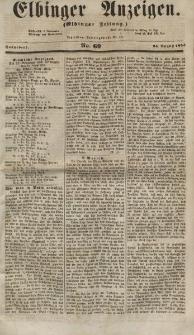 Elbinger Anzeigen, Nr. 69. Sonnabend, 25. August 1855
