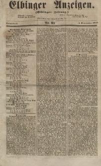 Elbinger Anzeigen, Nr. 71. Sonnabend, 1. September 1855