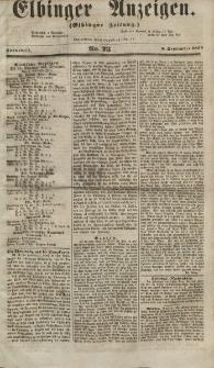 Elbinger Anzeigen, Nr. 73. Sonnabend, 8. September 1855