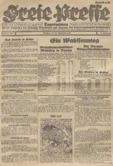 Freie Presse, Nr. 184 Montag 14. November 1927 3. Jahrgang