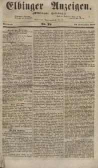 Elbinger Anzeigen, Nr. 78. Mittwoch, 26. September 1855
