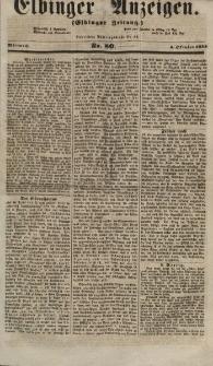 Elbinger Anzeigen, Nr. 80. Mittwoch, 3. Oktober 1855